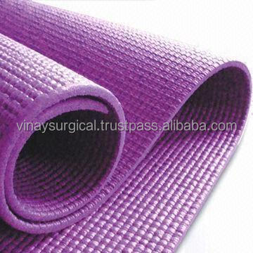 Custom Anti Slip Yoga Mat Roll With Carry Bag
