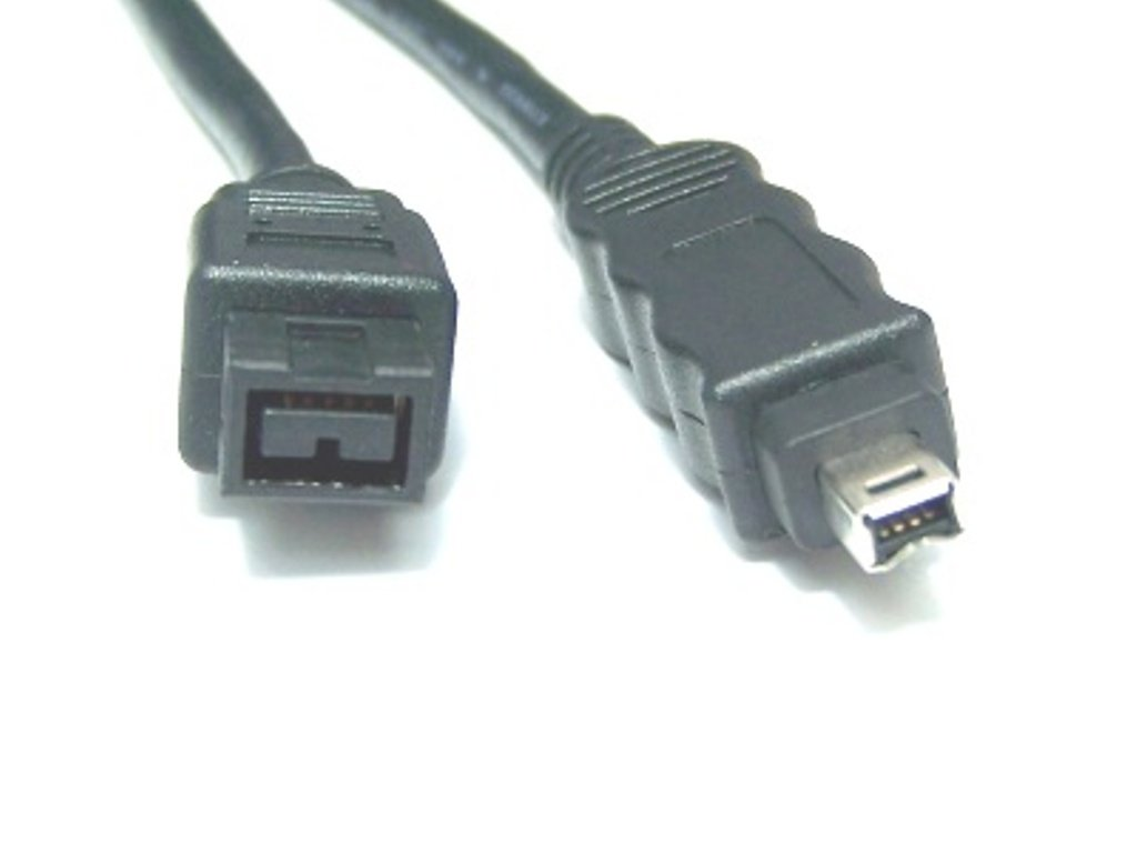 Micro Connectors, Inc. 10 feet Firewire IEEE 1394 9 Pin to 4 Pin Cable (E07-242)