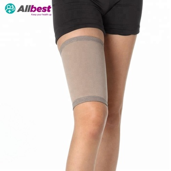 Bamboo Charcoal  Compression Thigh Support