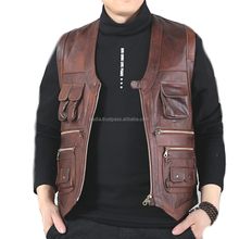 Hunting Stylish Leather Vests