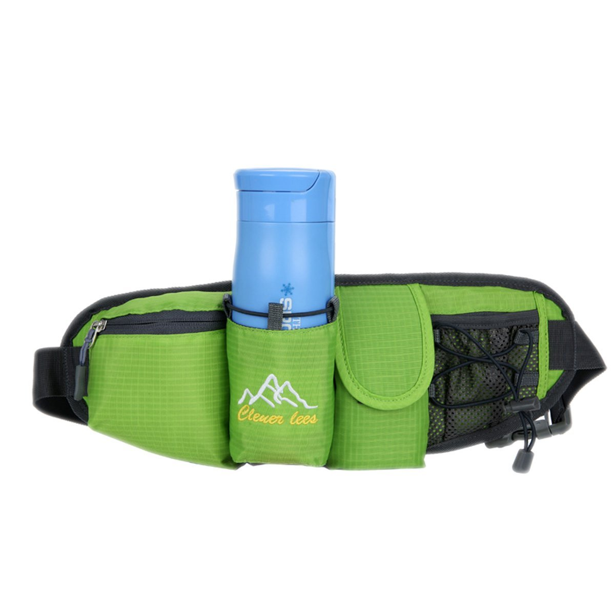 Sport Waist bag,Unisex Water Resistant Fanny Pack,Hiking Cycling Waist Pack, Multifunction Outdoor Lumbar Pack Bag, Bum Bag for Travel