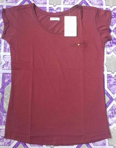 Original Branded Surplus Cheap Ladies Crew Neck T-Shirt/Garments Stocklot from Bangladesh