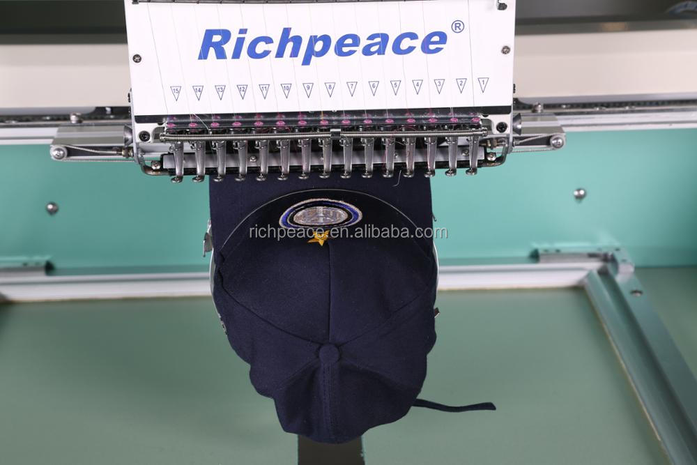Richpeace Computerized Cap/Tubular Embroidery Machine