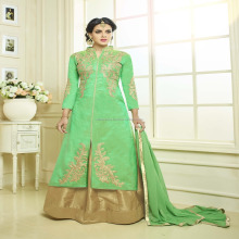 Traditional Stunning Panihari Vol-4 Light Green Color Lehenga