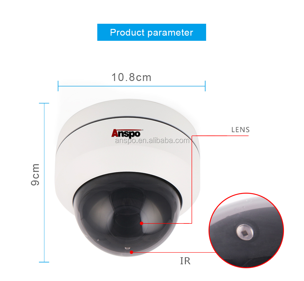 Wholesale 4MP 4X Autofocus Vandalproof PTZ IP66 PoE IP Camera IPC838PTZ