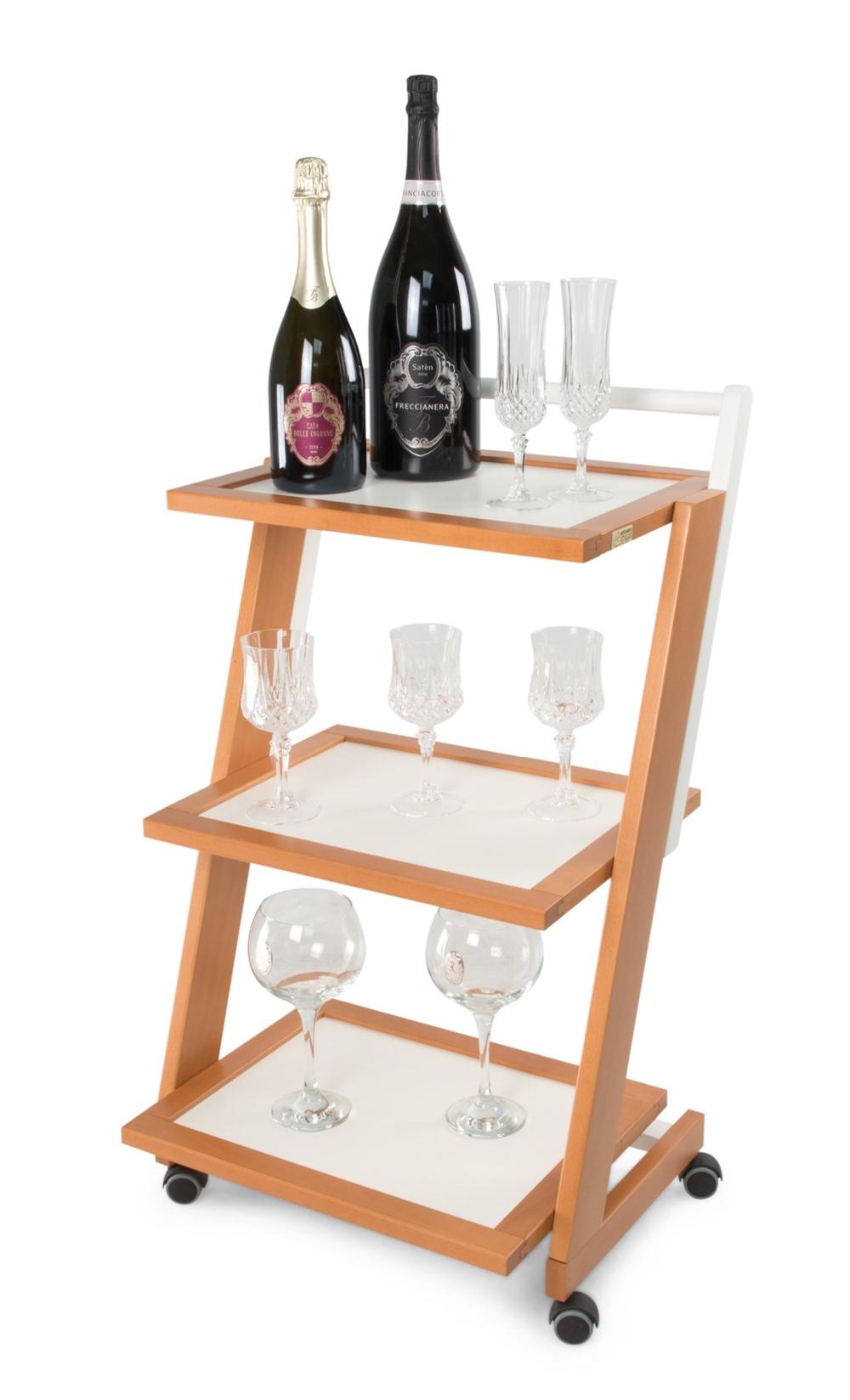 In Legno Wood Design serving trolley arredamenti italia zordan,wood - design - 3