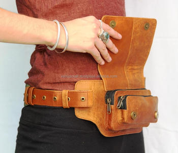Leather Utility Belt Hip Bag Travel Pocket For Women Hipster View Venus Leatherware Product Details From Textiles