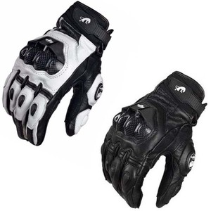 Motorcycle Riding Auto Engine Protection Guantes Full Finger Protective Racing Cycling Sport leather Gloves