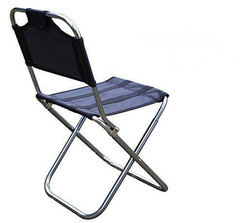 Ultra-light 7075 aluminum alloy folding chair outdoor portable stool leisure fishing chair barbecue stool