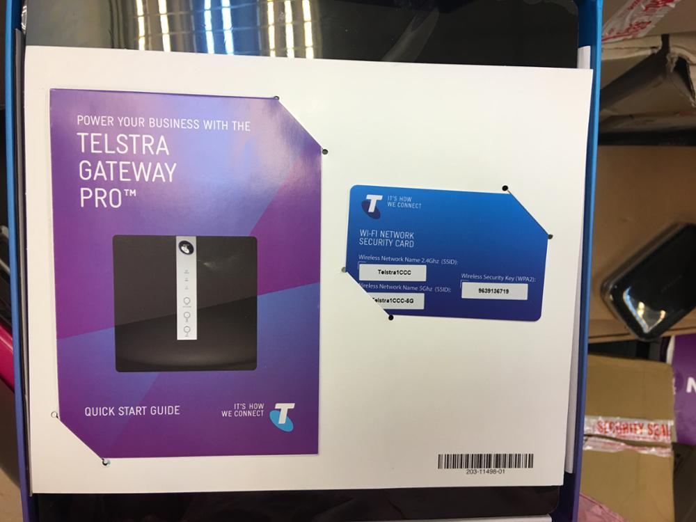 Telstra gateway pro vpn client