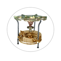 Oil Heating Brass Stove