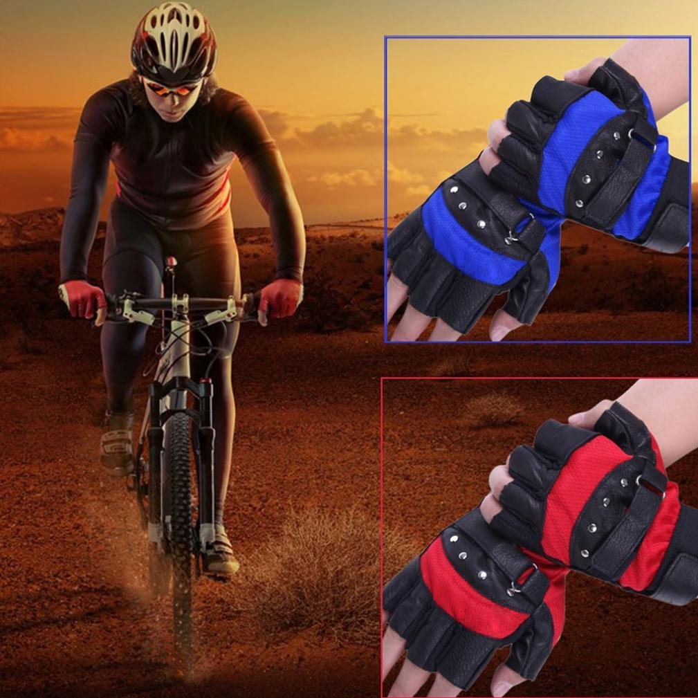 6792b76b7 Get Quotations · Sinwo Soft Sheep Leather Driving Motorcycle Gloves Biker  Fingerless Warm Gloves Biker Gloves Cycling Gloves Outdoor