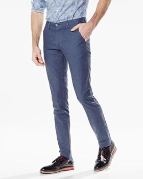 New Navy Blue Custom Fashionable Casual Pant