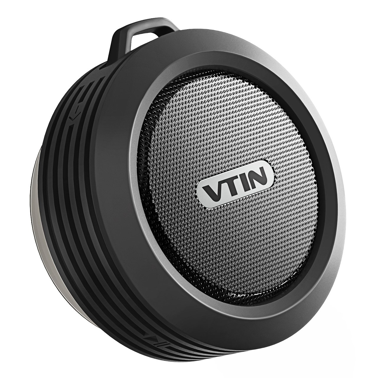 Vtin Shower Speaker with Bluetooth, Mini Waterproof Bluetooth Speaker, Hands-Free Speaker with Suction Cup, Built-in Mic