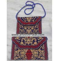 Indian Handicraft Designer Cotton Clutch Bag for Women
