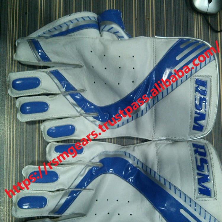 Top Quality Custom Made Wicket Mantendo Luvas