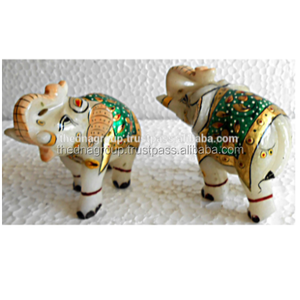 Designer Indian Elephant Marble Corporate Gift Items