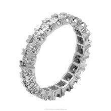 New Arrival 0.19 ct. Diamond Eternity Ring in 14k White Gold