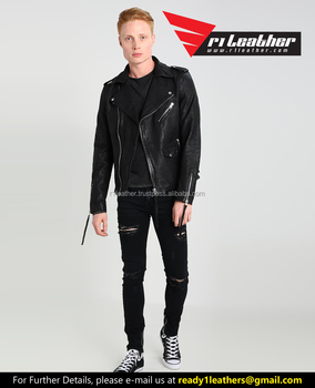 c790b487d0b4 Men Fashion Good Look Genuine Leather Jackets Motorcycle Coats Jackets  Washed Leather