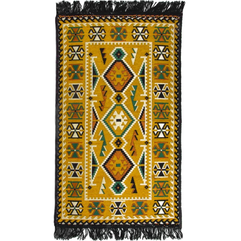 60x90 Cm Colorful Woven Turkish Kilim