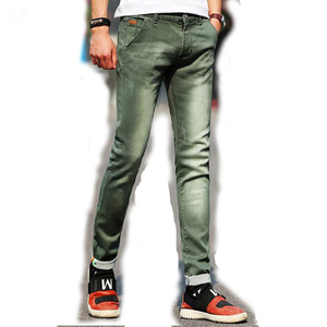 OEM Wholesale Men Jeans Manufacturer Straight Classic Jeans Male Denim Pants New Design Men Casual Trousers