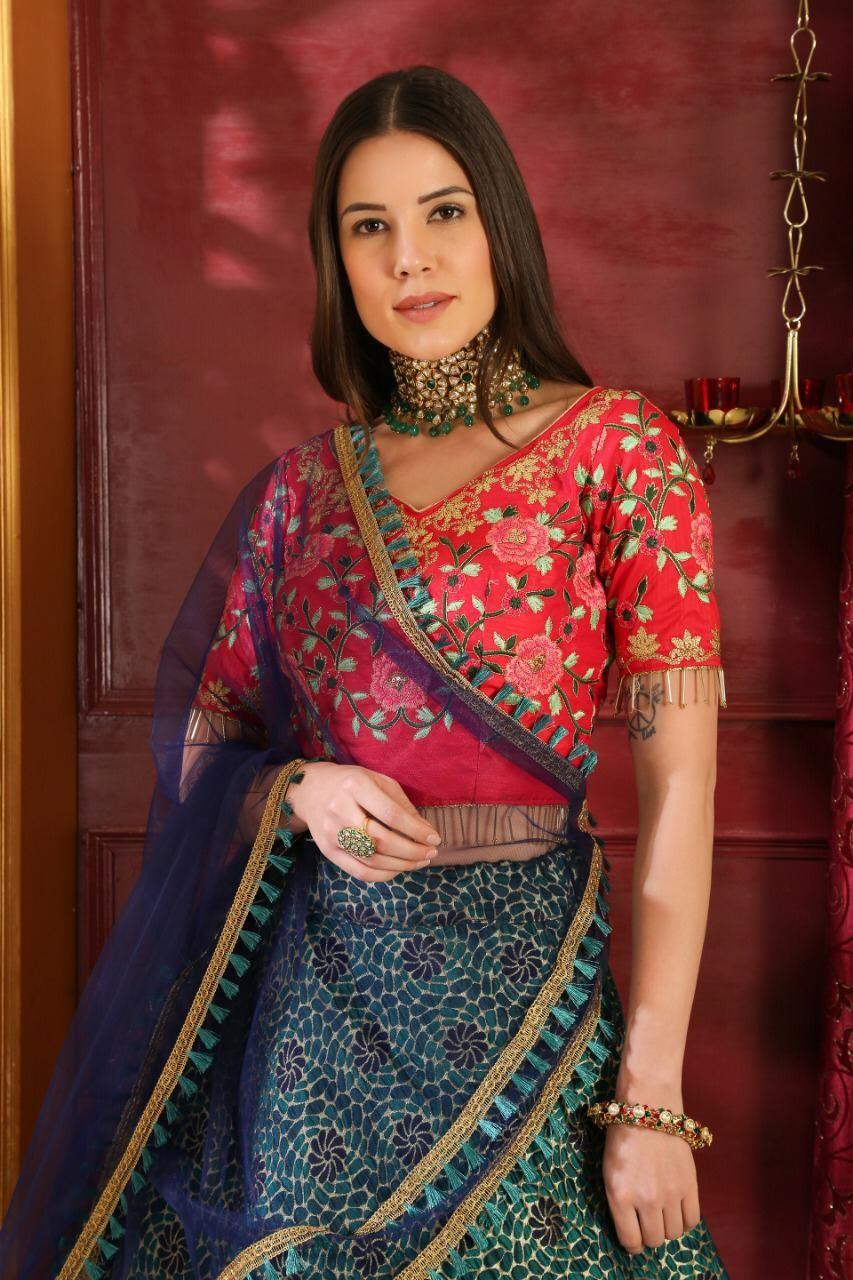 Pakistani Designer Bridal Lehenga Yescar Innovations2019 Org