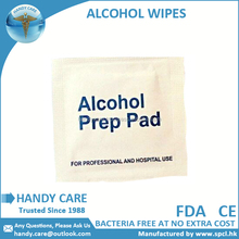 <span class=keywords><strong>Alcol</strong></span> Prep Pad disinfezione Medica Tamponi