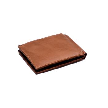 Simple design fashion wholesale custom leather wallet with card holder