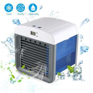 Portable fan water cooler desktop usb artic room mini air conditioner