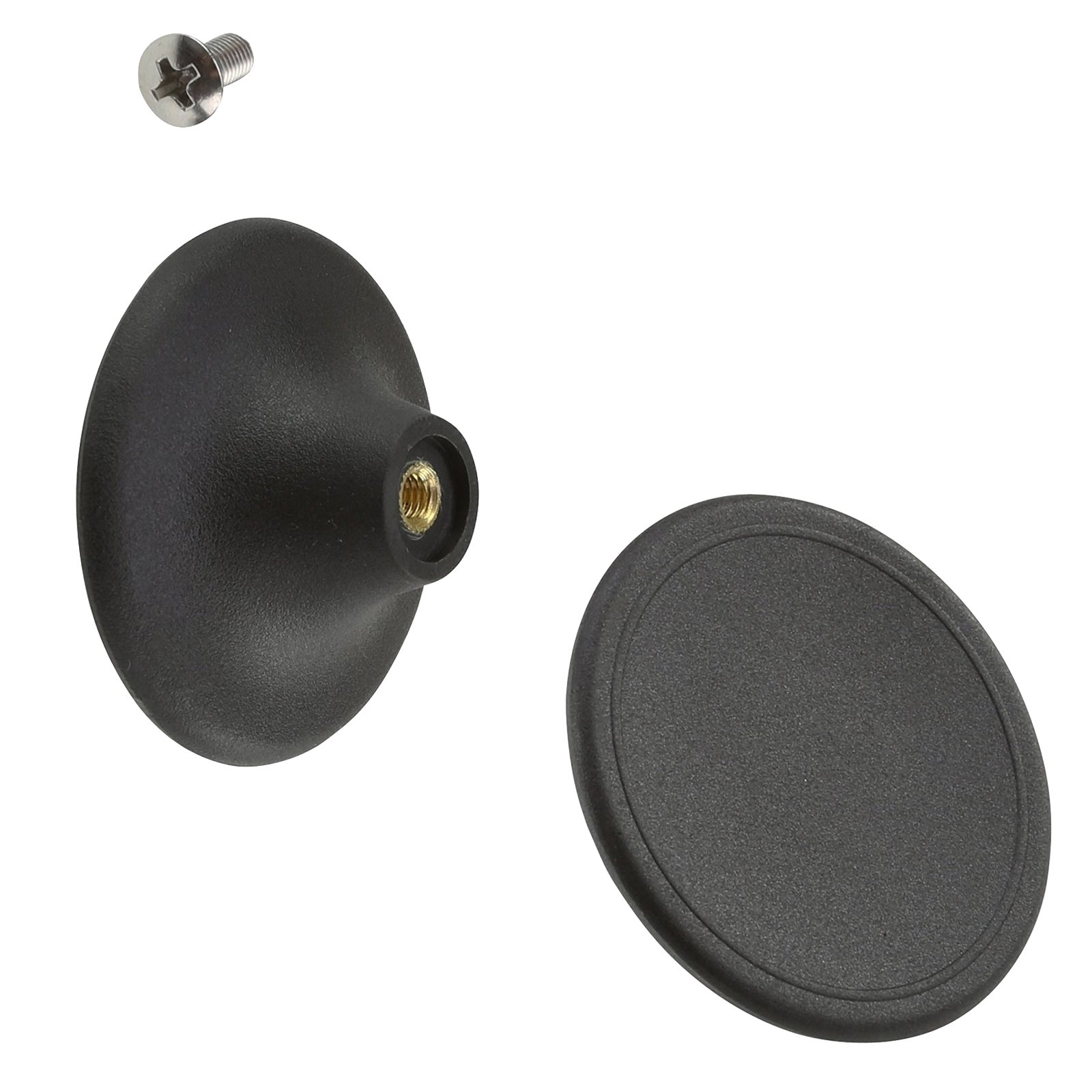 f6f3a1d81f7 Get Quotations · Large Replacement Knob Fits Le Creuset Round Shallow Oval  Casserole Lid w/ Screw