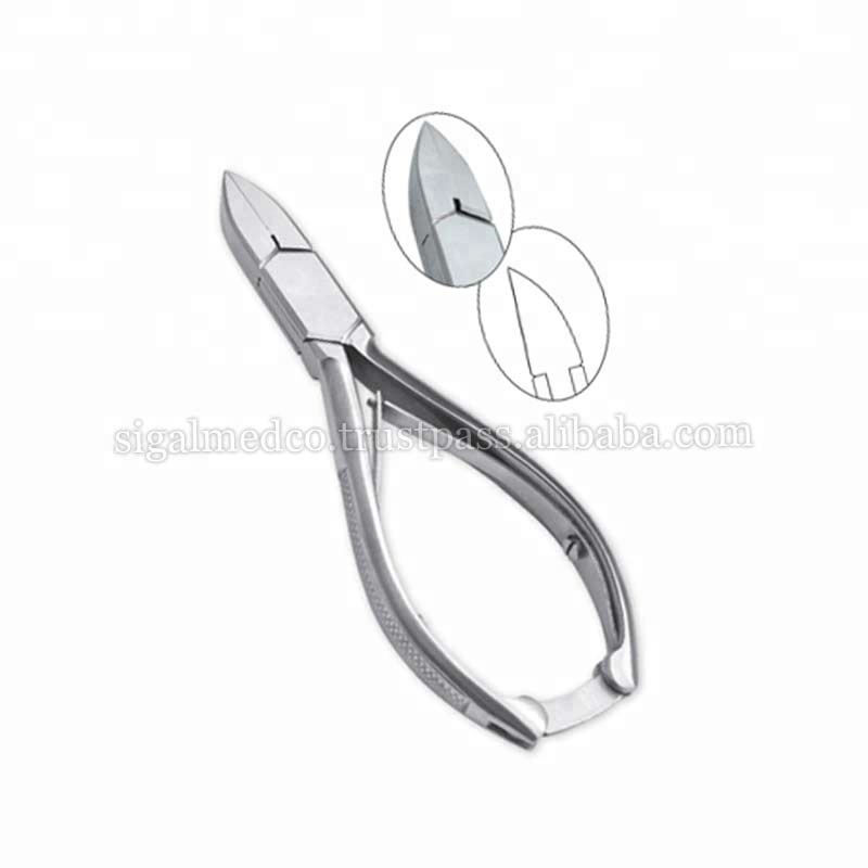 Pro Toe Nail Clippers Cutter Podologie Podologie Cvd Lame Épaisse Droit Ongles/Podologie cutters & Outils