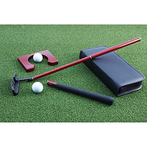Maxam Maxam Portable Cherry Wood Putter Set for Travel or the Office [Misc.]