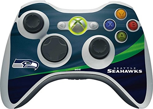 NFL Seattle Seahawks Xbox 360 Wireless Controller Skin - Seattle Seahawks Vinyl Decal Skin For Your Xbox 360 Wireless Controller