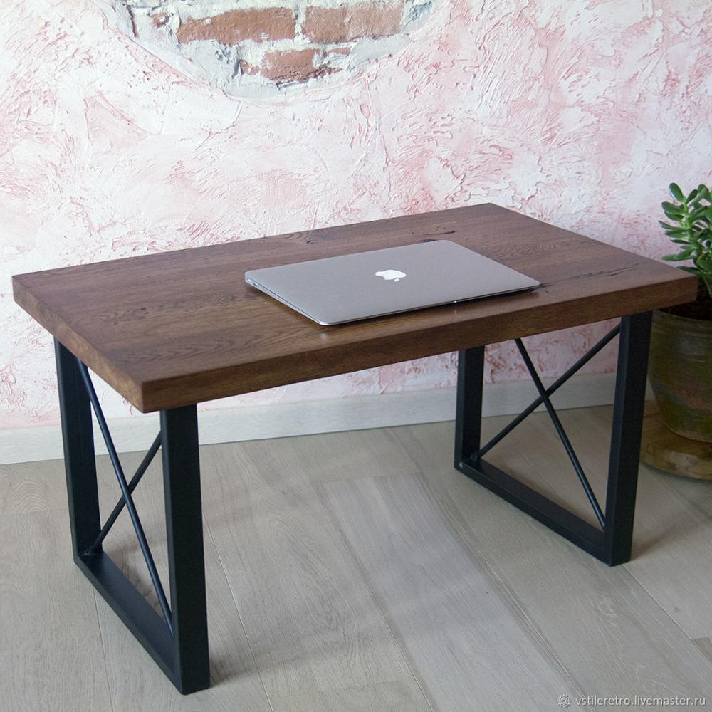 - Indian Design Acacia Wood Coffee Table/centre Table With Metal Leg
