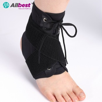 Lace up Ankle Shelter guard Support brace