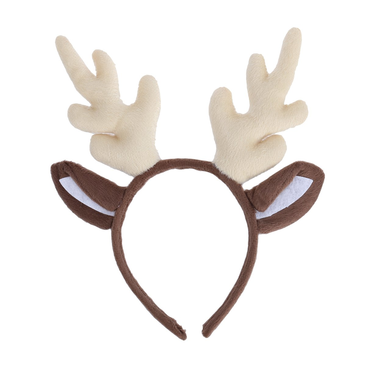 2e4d401829f6c Get Quotations · Tinksky Reindeer Antler Hair Hoop Christmas Kids Headband  Headwear for Children Christmas Costume Party birthday or
