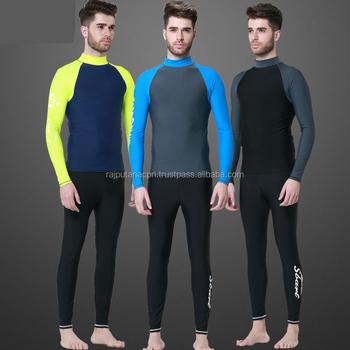 d1a27cce761fc2 Mma Rash guard Swim Shirts Men Long Sleeve Lycra Top Man Swimming-Shirt  Diving Made