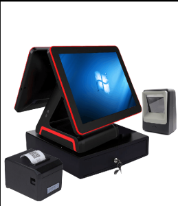 All in one touch screen 15inch POS systems/ POINT OF SALES