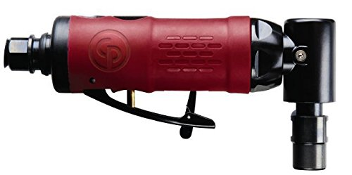 Chicago Pneumatic 6151952106 Air Die Grinder - Angle Grinder with Accessible Speed Regulator. Pneumatic Die Grinders