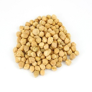 Certified Roasted Golden Chickpeas (Unsalted)