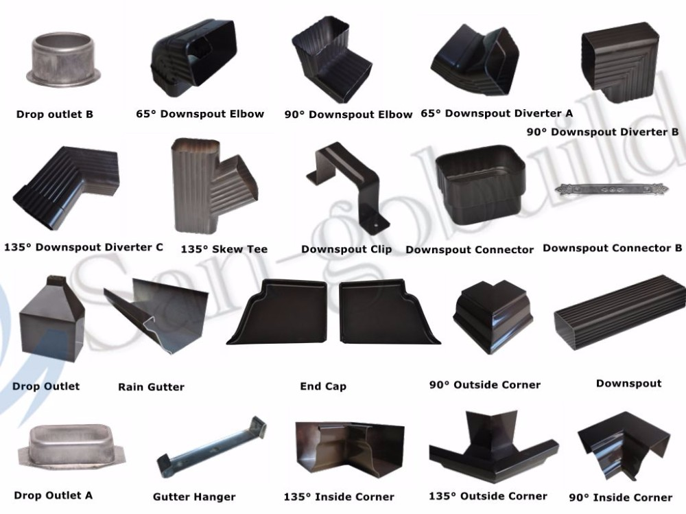Long Lasting Roofing Materials Durable Metal Roof Drainage