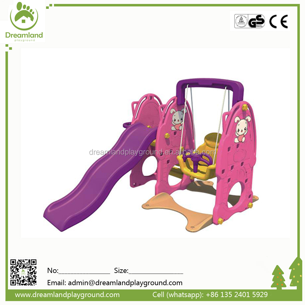 wholesale small cute plastic slide for kids