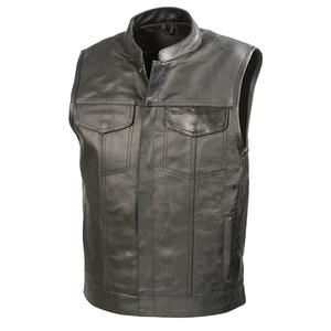 cb8fa36b5ee2d Club Leather Vest Wholesale
