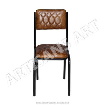 Amazing Vintage Industrial Comfortable Seating Leather Chair Leather Dining Chair Cafe Chair Buy Leather Furniture Cafe Leather Chair Leather Sofa Product Ncnpc Chair Design For Home Ncnpcorg