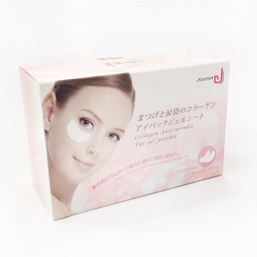 JOVISA Sotto Ciglia Crema Idratante Nutriente Collagene Eye Mask Patch Occhio per Premium Rimozione Extension Ciglia