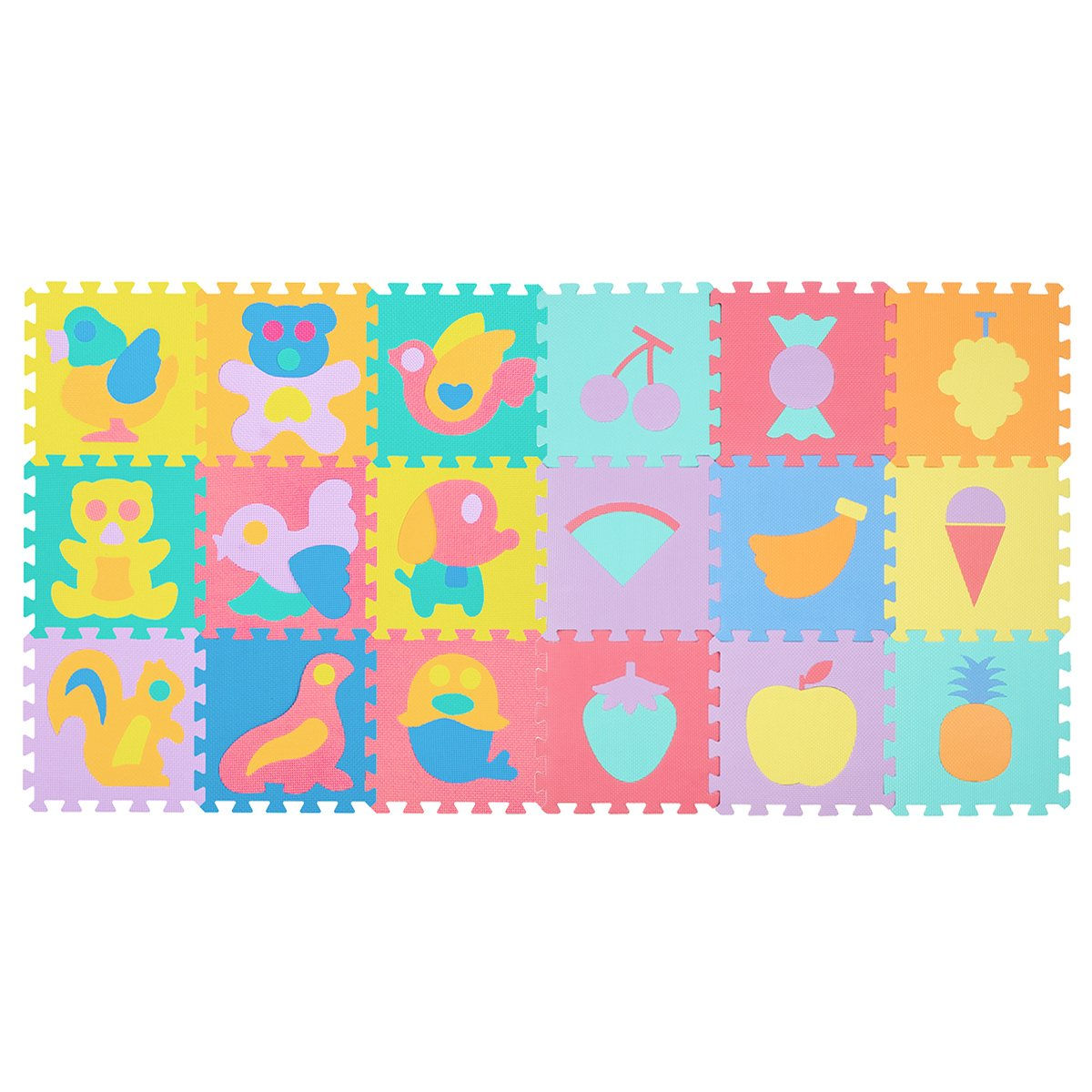 65c604ccf39 Get Quotations · Zoeshare Puzzle Play Mat for Kids Foam Mat