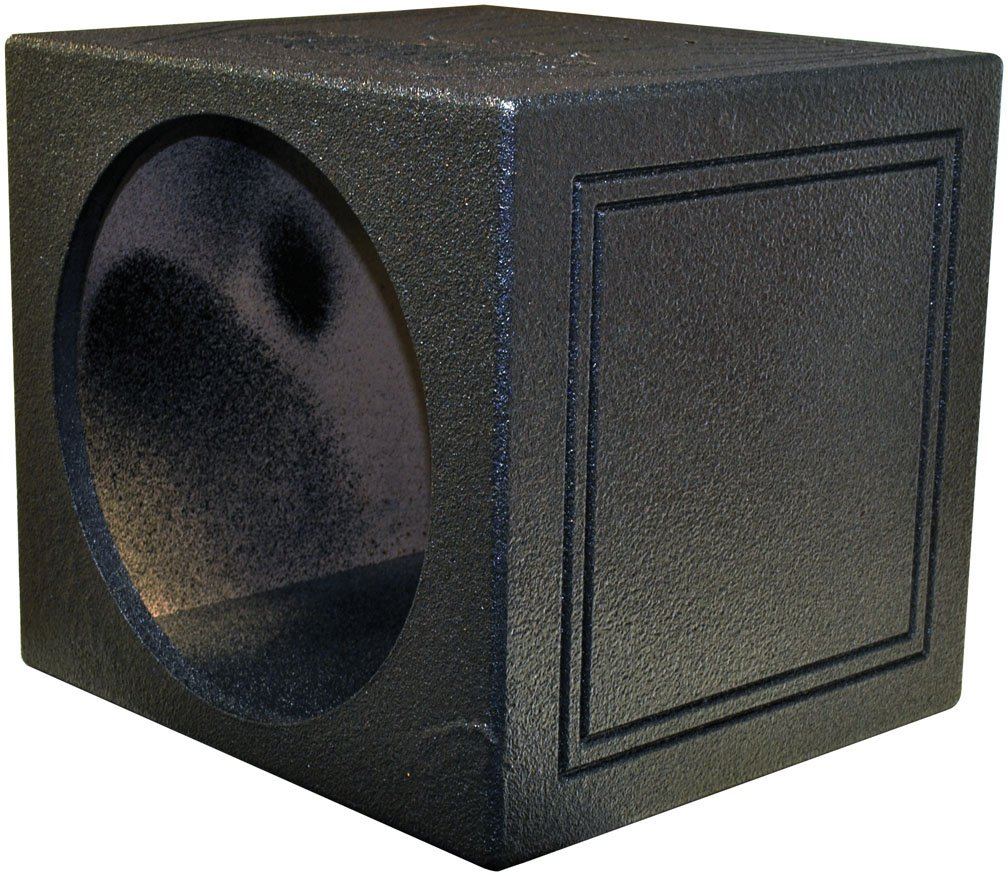 "NEW! Q-POWER QBOMB 15"" Sealed Car Subwoofer Sub Box Enclosure 