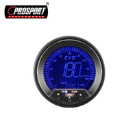 85mm Custom Digital LCD Display Speedometer For Cars