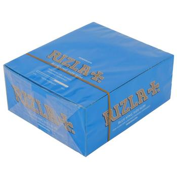 Blue Genuine Rizla Rolling Paper Regular Standard Tobacco Smoking Booklets 70mm