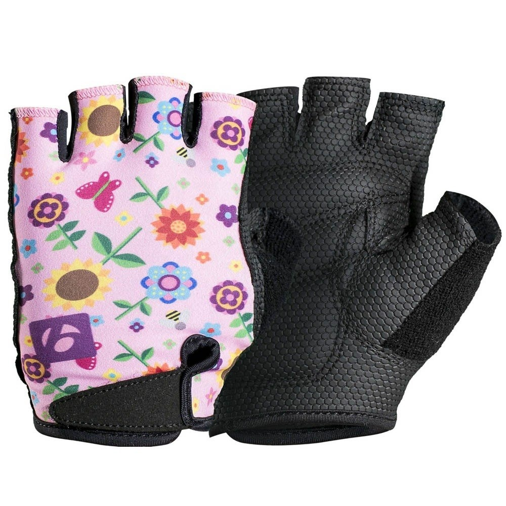 Children Kids Bike Gloves Half Finger Breathable Anti-slip For Sports Cycling